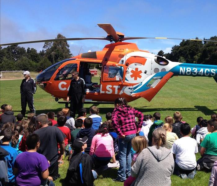 Fort Bragg High School Safety Day